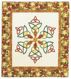 A Celtic Celebration, quilt designed and made by Beth Ann Williams, (C) 2000
