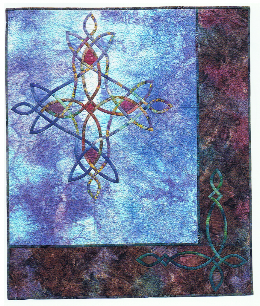 Evening Star, designed and made by Beth Ann Williams, (C) 1999
