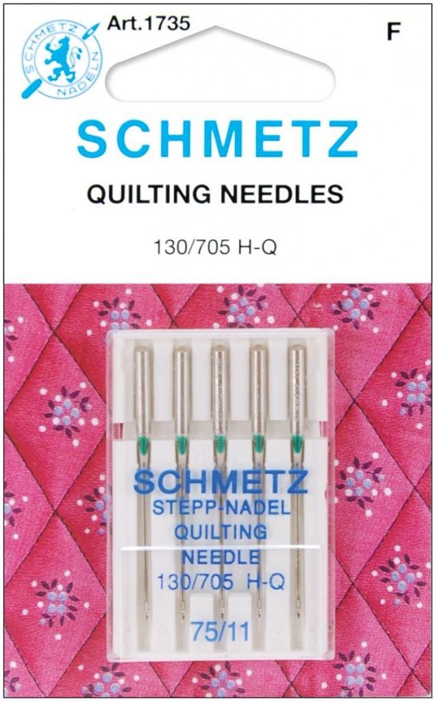 Schmetz Quilting Needles, size 75/11