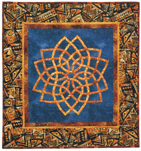Afro-Celt, quilt designed and made by Beth Ann Williams, (C) 2000
