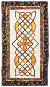 Morning Glory, quilt designed and made by Beth Ann Williams, (C) 2000
