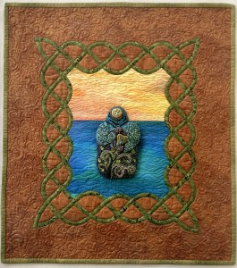 Mother Nuture, journal quilt, (C) Beth Ann Williams