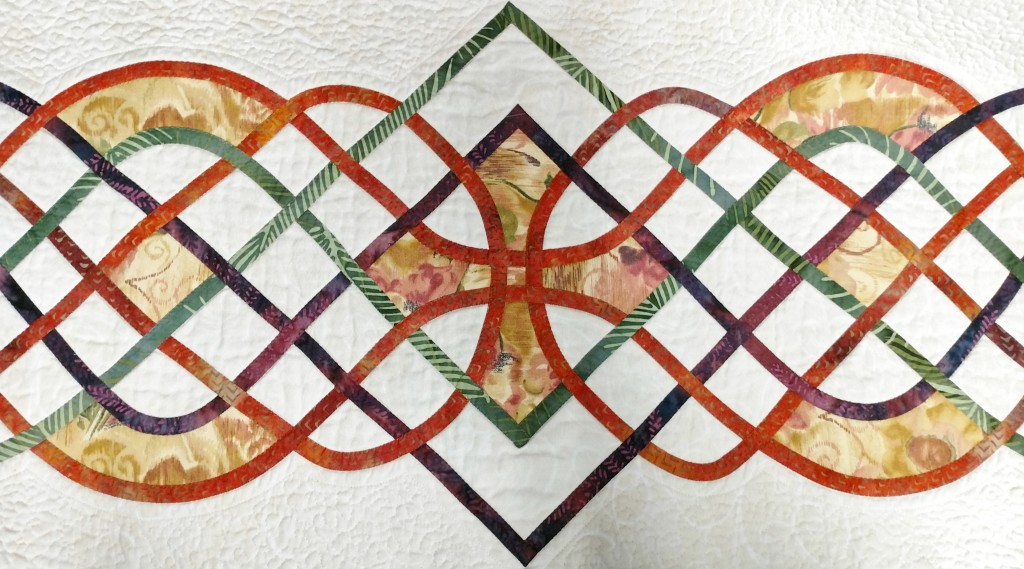 Detail from Morning Glory, from Celtic Quilts: A New Look for Ancient Designs by Beth Ann Williams